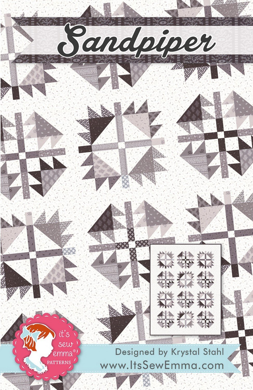 Sandpiper Pattern by Krystal Stahl from It's Sew Emma