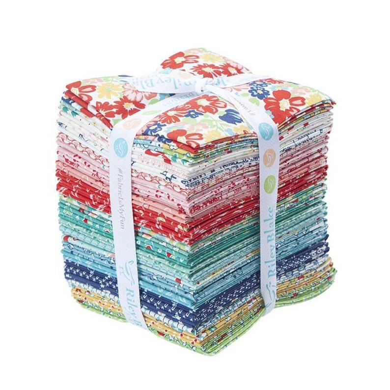 Riley Blake Vintage Happy 2 Fat Quarters by Lori Holt from Bee In My Bonnet 30 pc