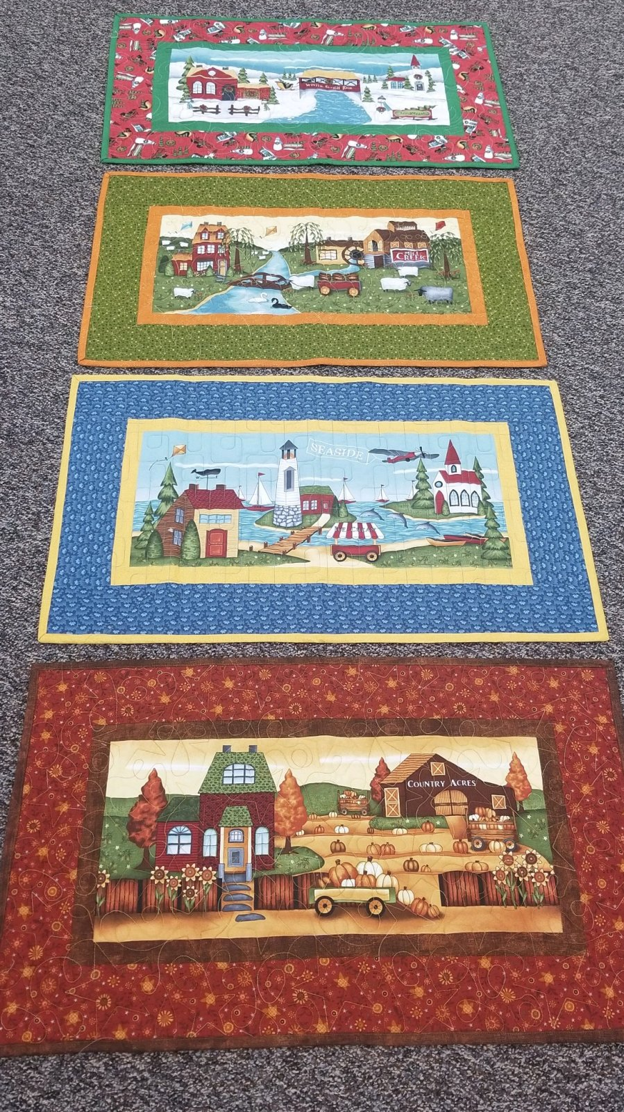 Country Journey Seasonal Table Runners