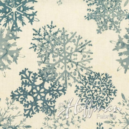 Bali Batik Snowflake Silver