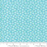 Badda Bing Ditzy Flowers Turquoise