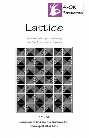 Lattice A OK 5 Yard Pattern