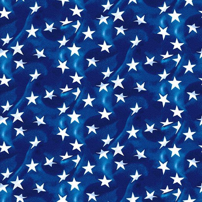 Henry Glass American Trucker Tossed Stars