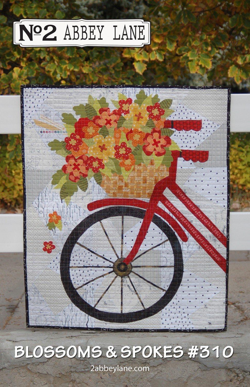 Blossoms & Spokes Quilt Pattern