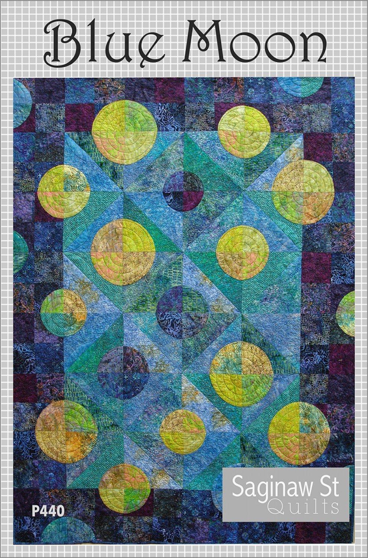 Blue Moon Quilt Pattern