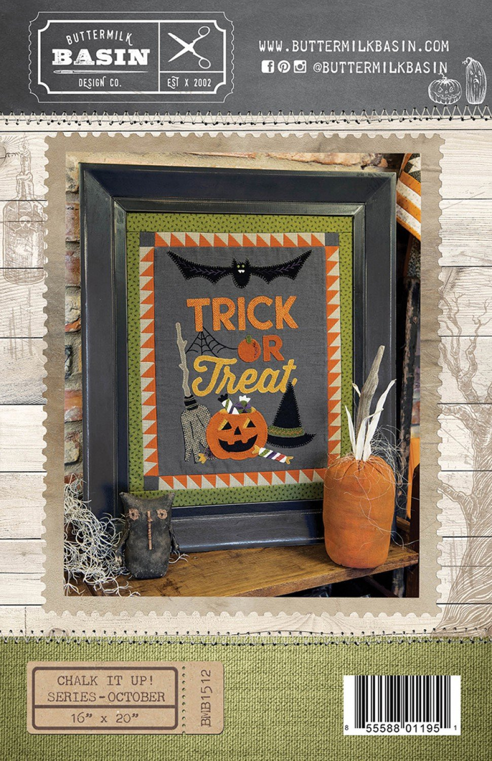 Chalk It Up Series:  October Trick or Treat