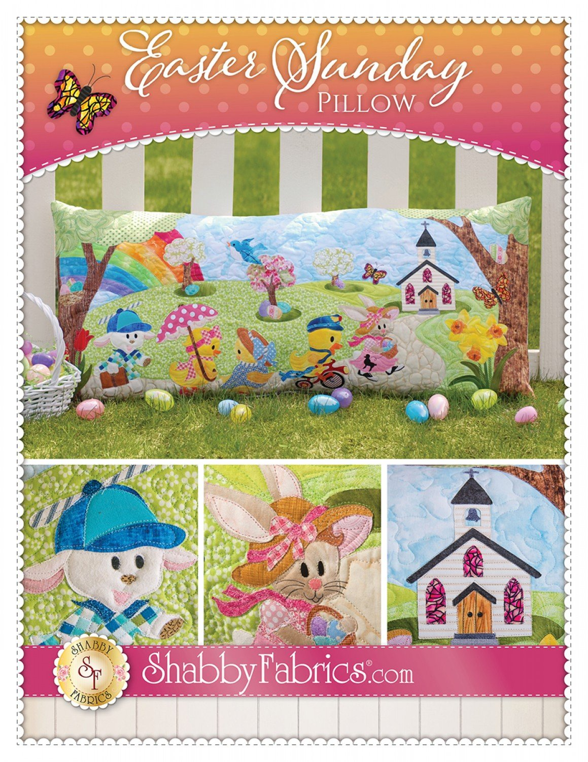 Easter Sunday Quilted Pillow Pattern