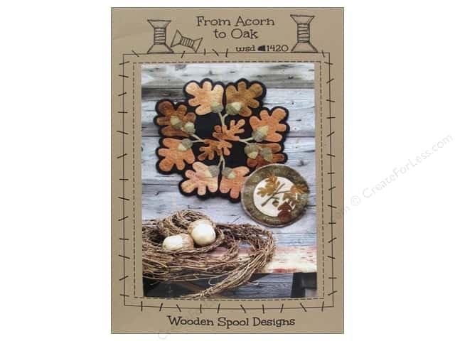 From Acorn to Oak Wool Pattern