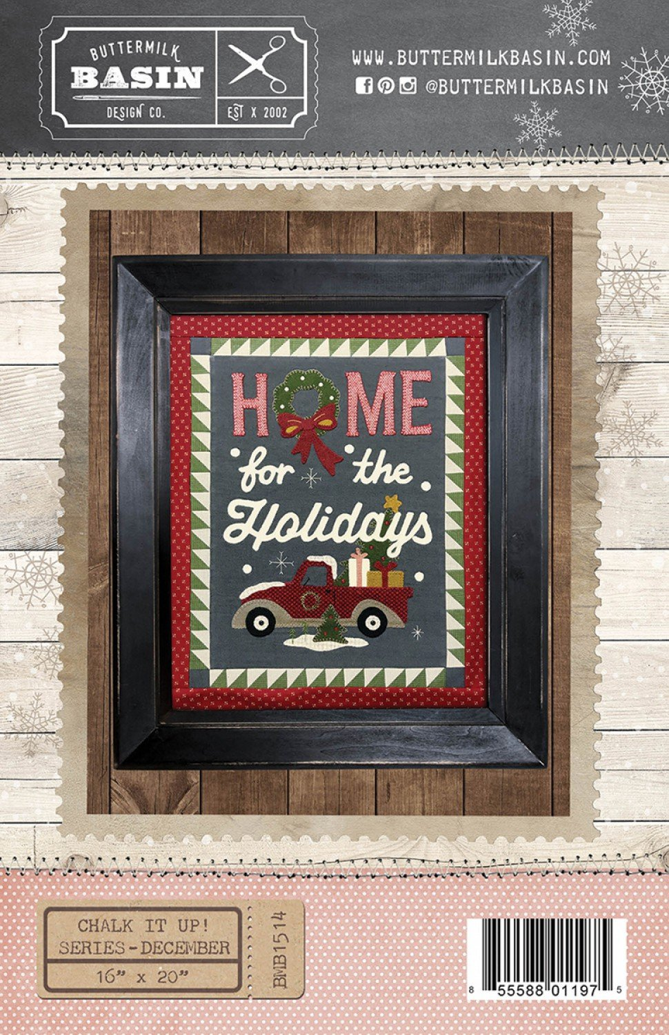 Chalk it Up Series:  December Home for the Holidays