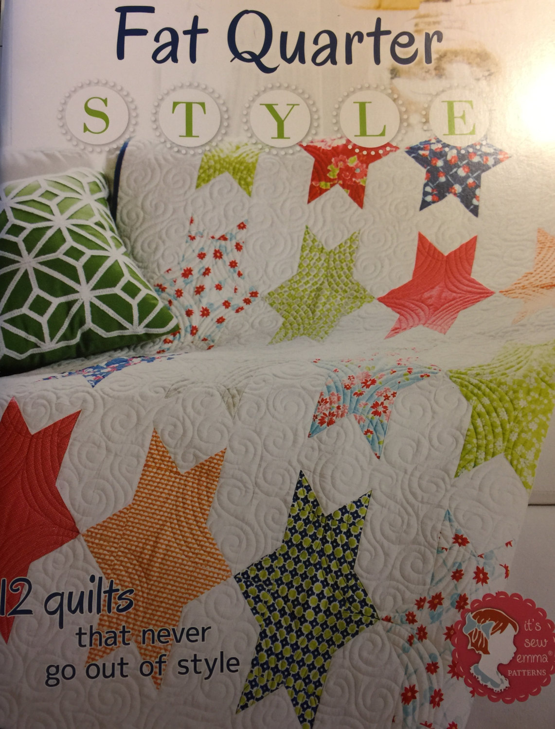 Fat Quarters Quilting Book - patterns shown included in the book