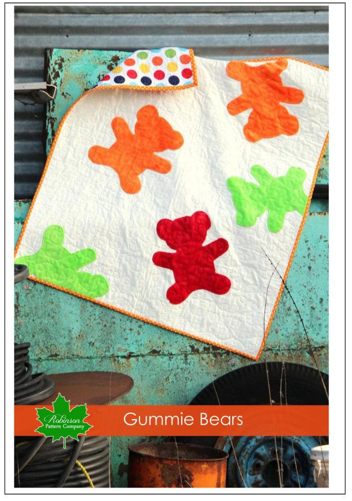 Gummie Bears Quilt Pattern