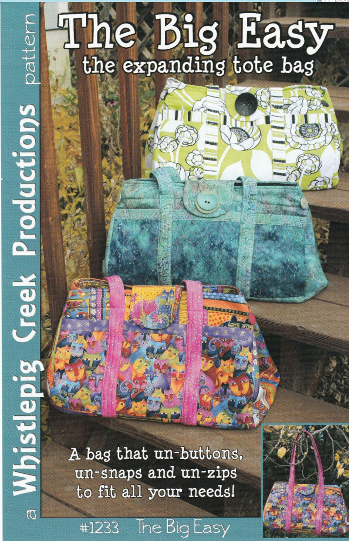 The Big Easy Expandable Tote Pattern