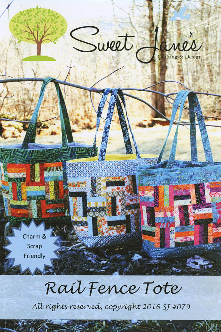 Rail Fence Tote by Sweet Jane