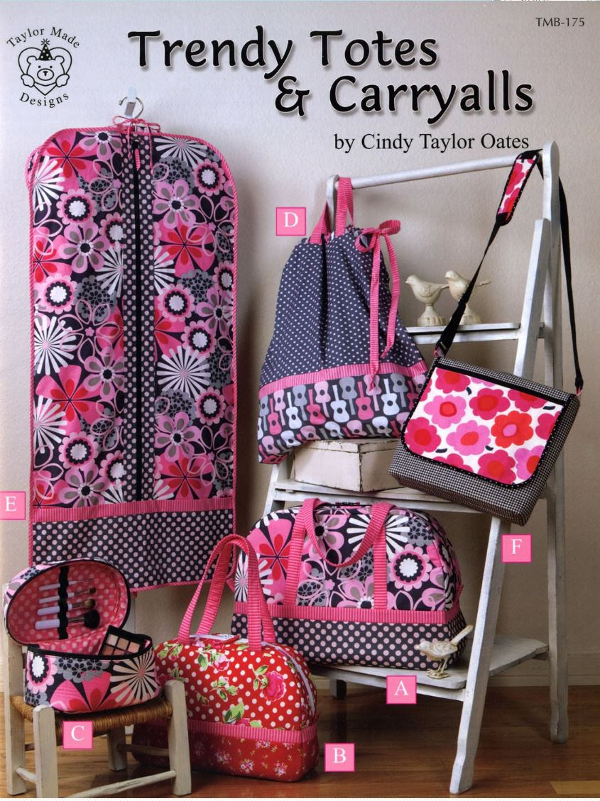 Trendy Totes & Carryall Patterns