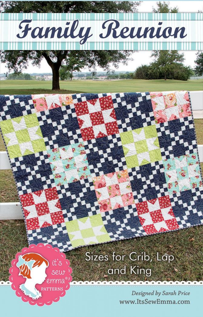 Family Reunion Quilt Pattern