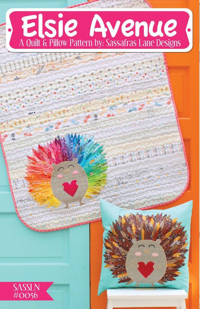 Elsie Avenue Quilt Pattern by Sassafras Designs