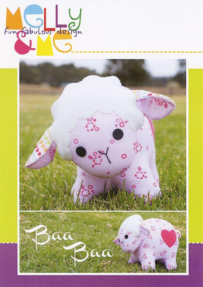 Baa Baa Stuffed Lamb Pattern