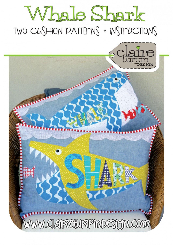 Whale Shark Cushion Patterns