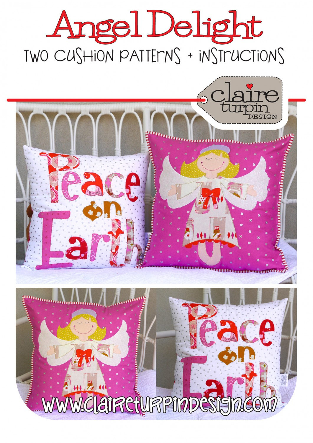 Angel Delight Quilted Pillow Patterns