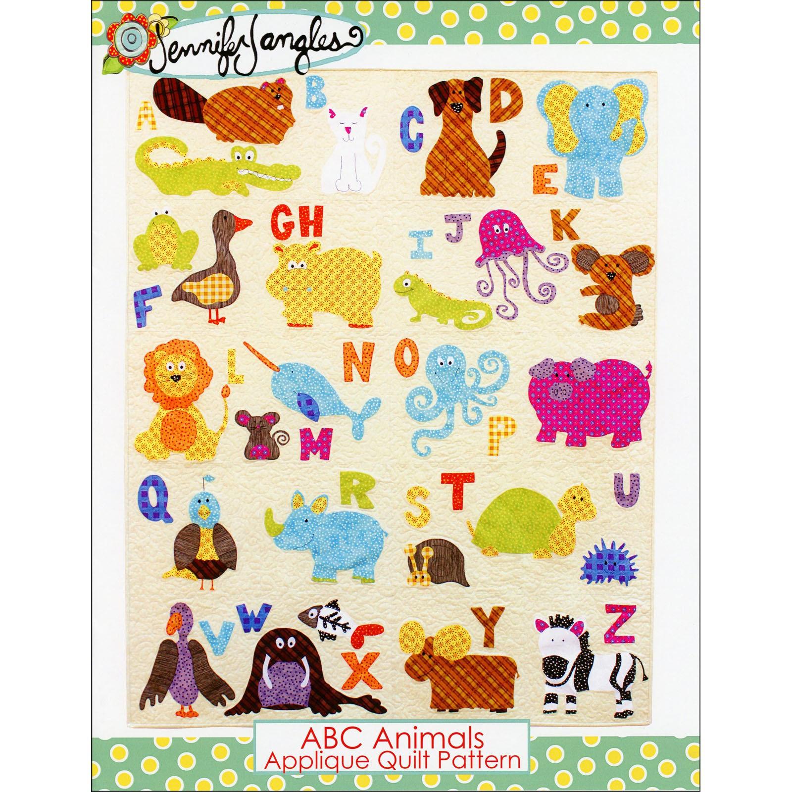 ABC Animals Quilt Pattern