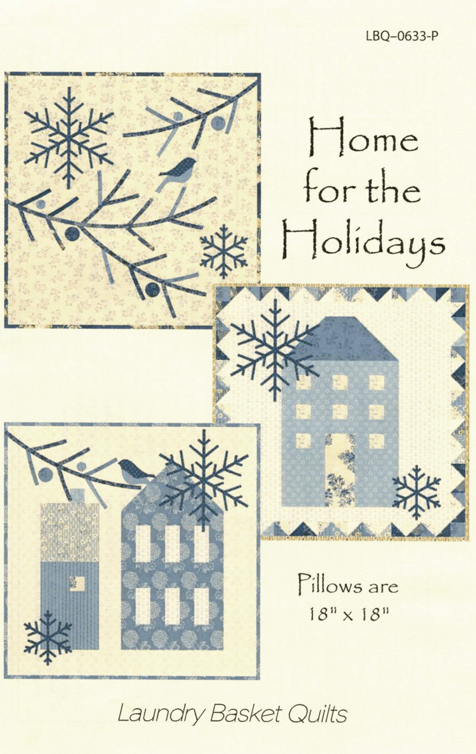 Home for the Holidays Quilted Pillow Patterns