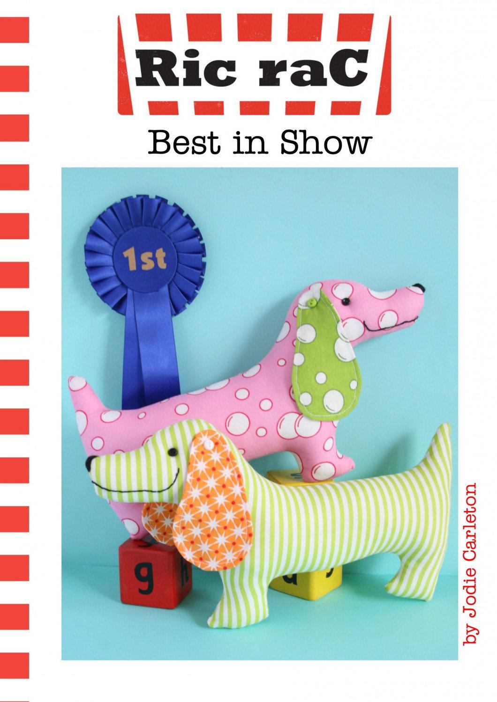 Best in Show Stuffed Dog Pattern