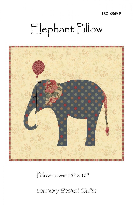 Elephant Pillow Pattern