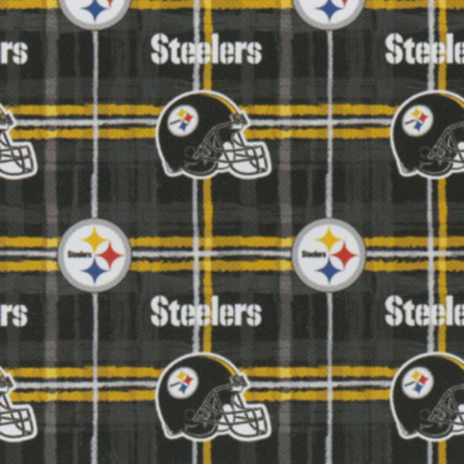 Pittsburgh Steelers Flannel Fabric