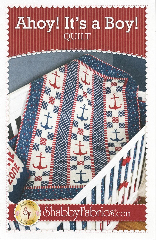 Ahoy! It's a Boy Quilt Pattern