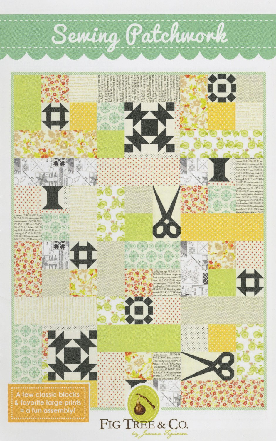 Sewing Patchwork Quilt Pattern