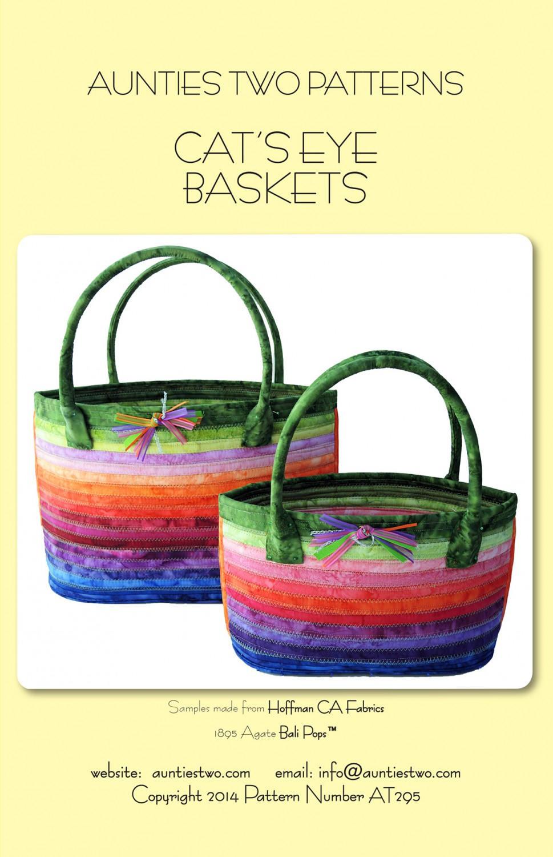 Cat's Eye Baskets Purse Pattern