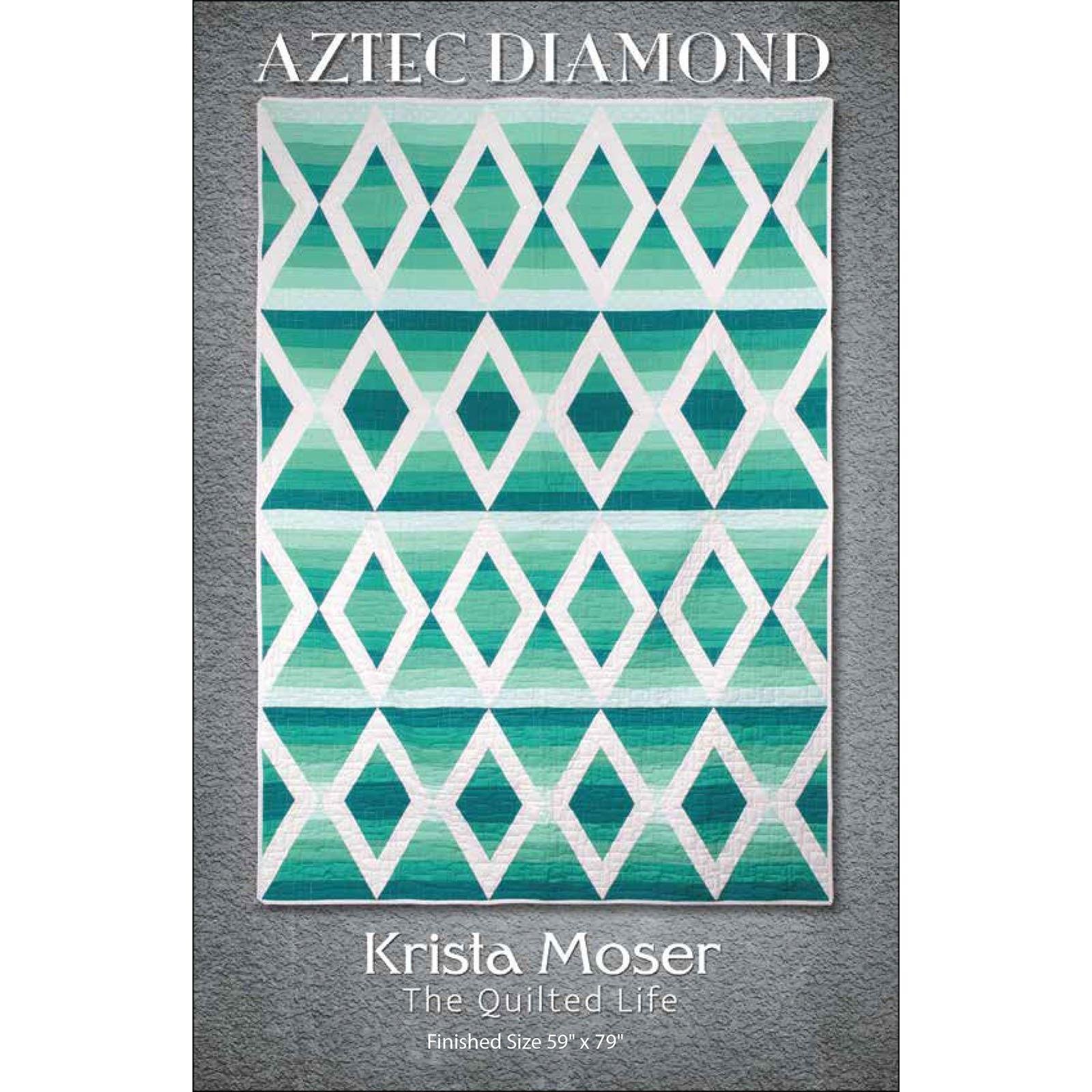 Aztec Diamond Quilt Pattern