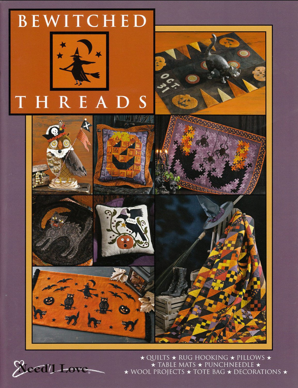 Bewitched Threads Quilt Pattern Book
