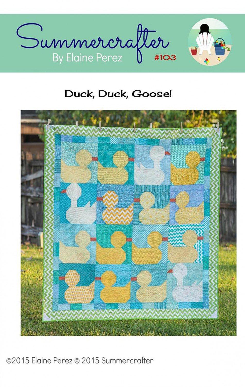 Duck Duck Goose Quilt Pattern