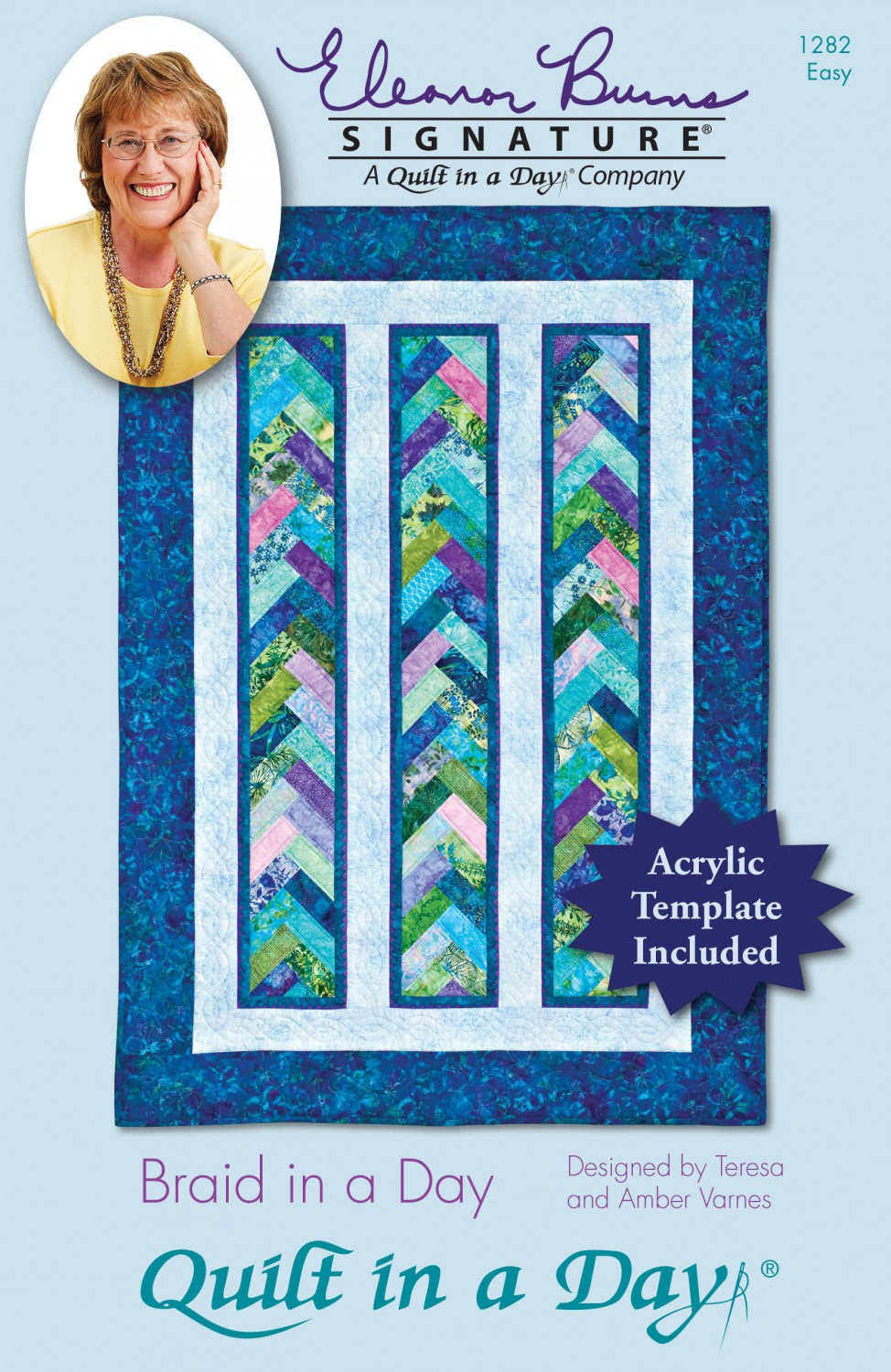 Braid in a Day Pattern by Eleanor Burns - Acrylic template included