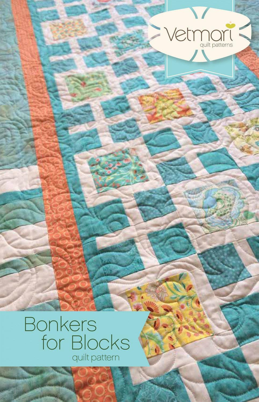 Bonkers for Blocks Quilt Pattern