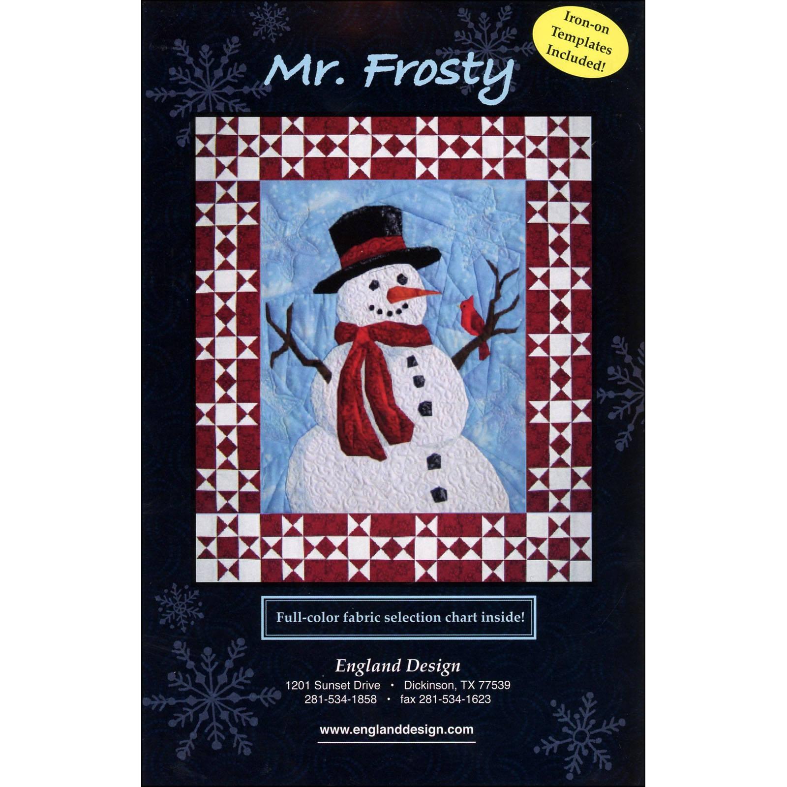 Mr. Frosty Snowman Quilt Pattern