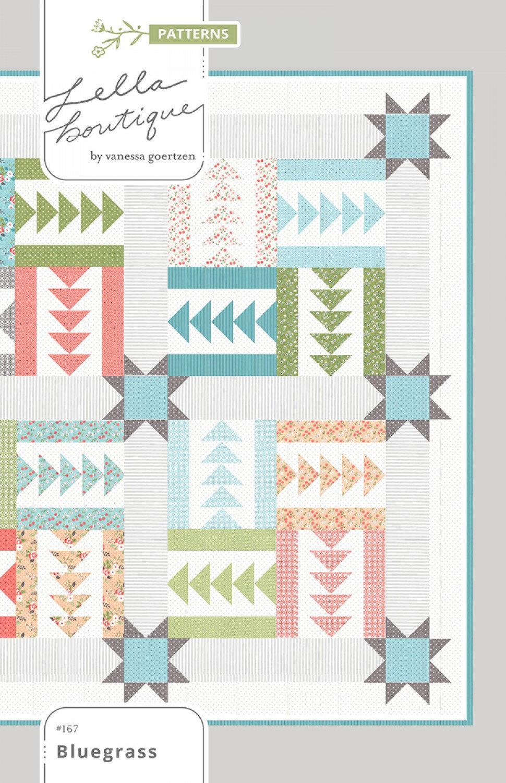 Bluegrass Quilt Pattern