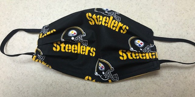 Pittsburgh Steelers Black Face Mask