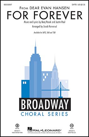 For Forever from <i>Dear Evan Hansen</i>-SATB