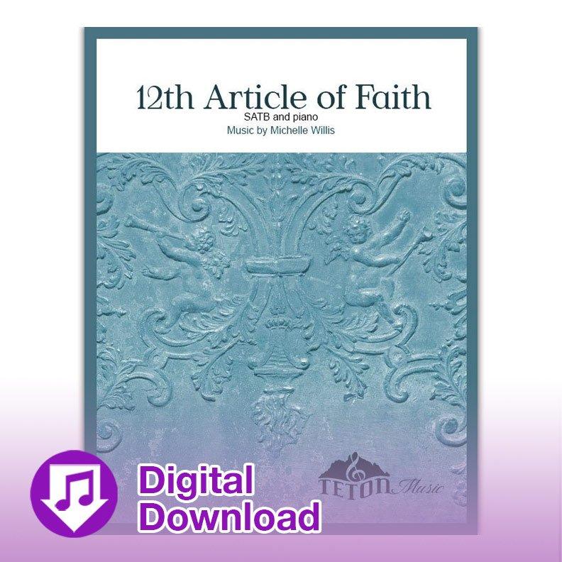 12th Article of Faith (SATB)