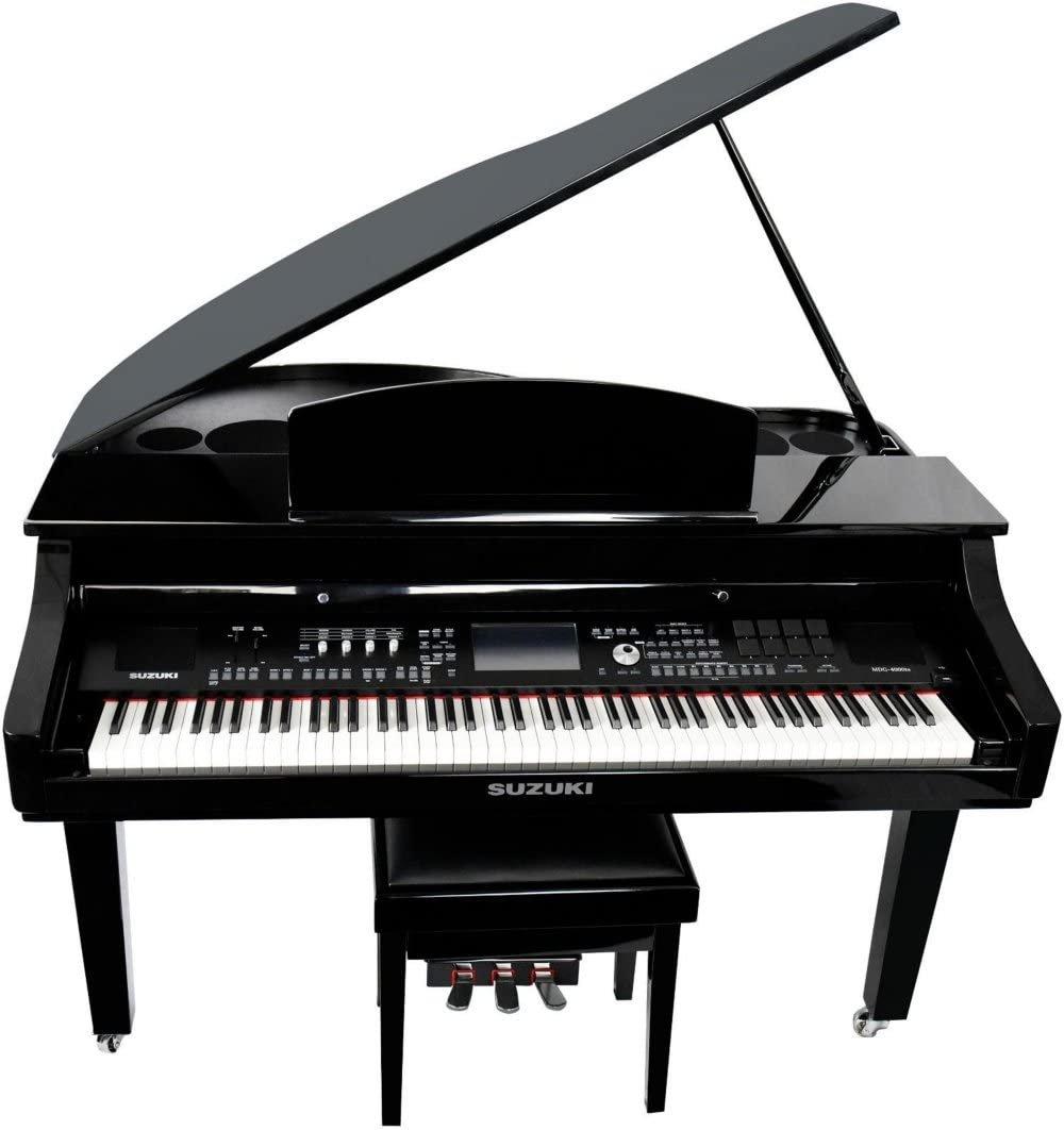 Suzuki Baby Grand Digital Piano (Black Hi Gloss)