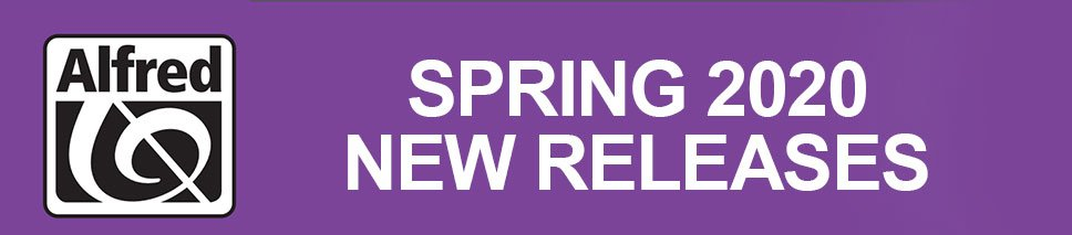 Alfred Spring 2020 Choral New Releases