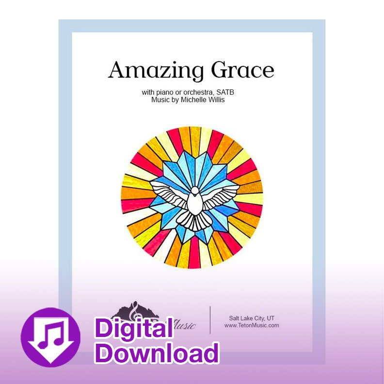 Amazing Grace (SATB with orchestra)