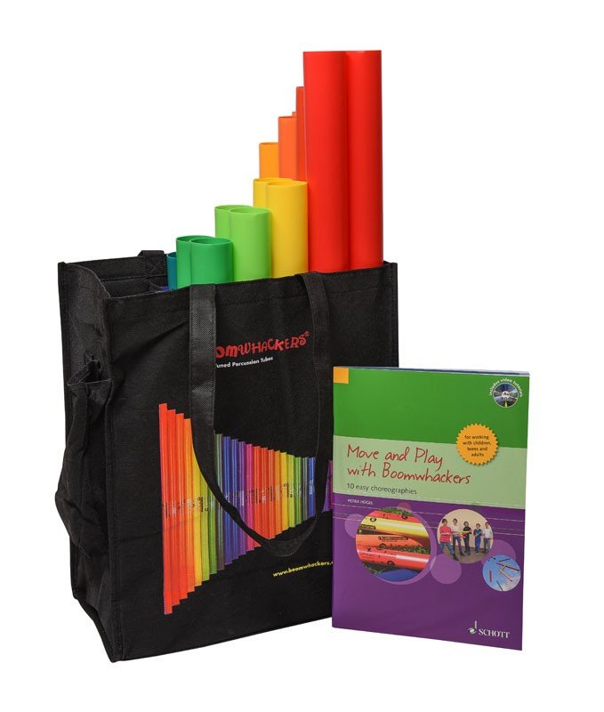 Boomwhackers Move and Play Set with Bag