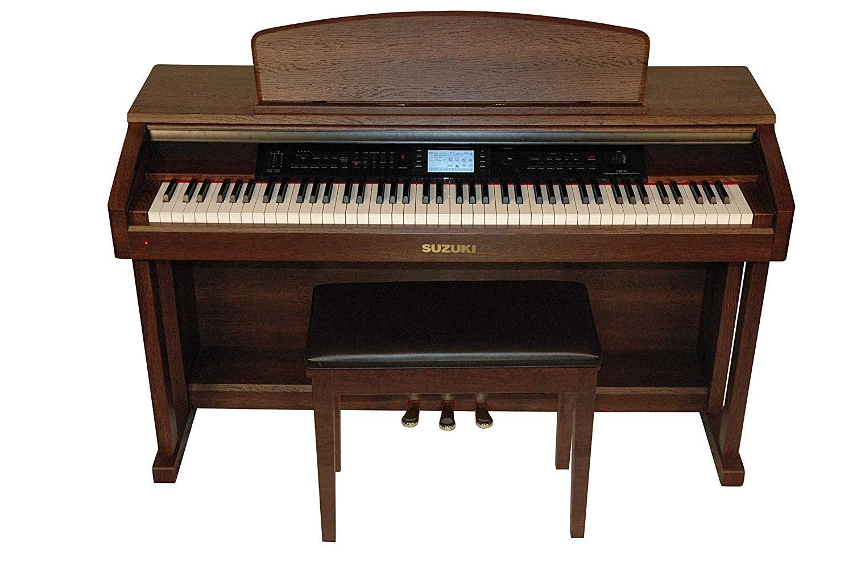 Suzuki Classroom Teaching Piano (Mahogany Wood Grain)