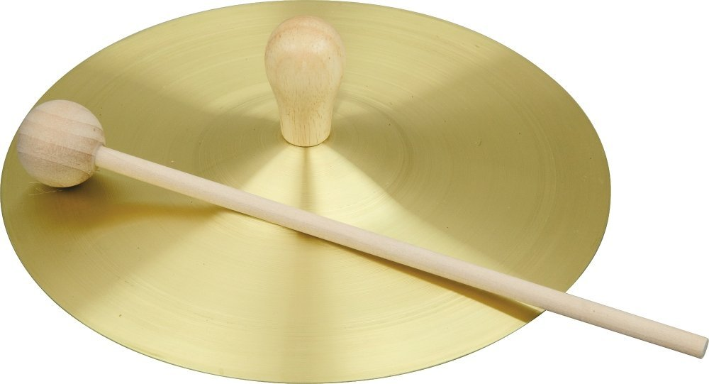 Rhythm Band Solid Brass Cymbal