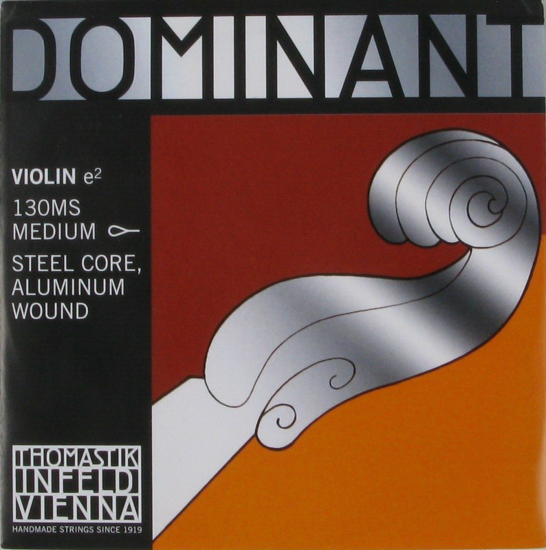 Thomastik Dominant 130MS Violin E String (Loop End)