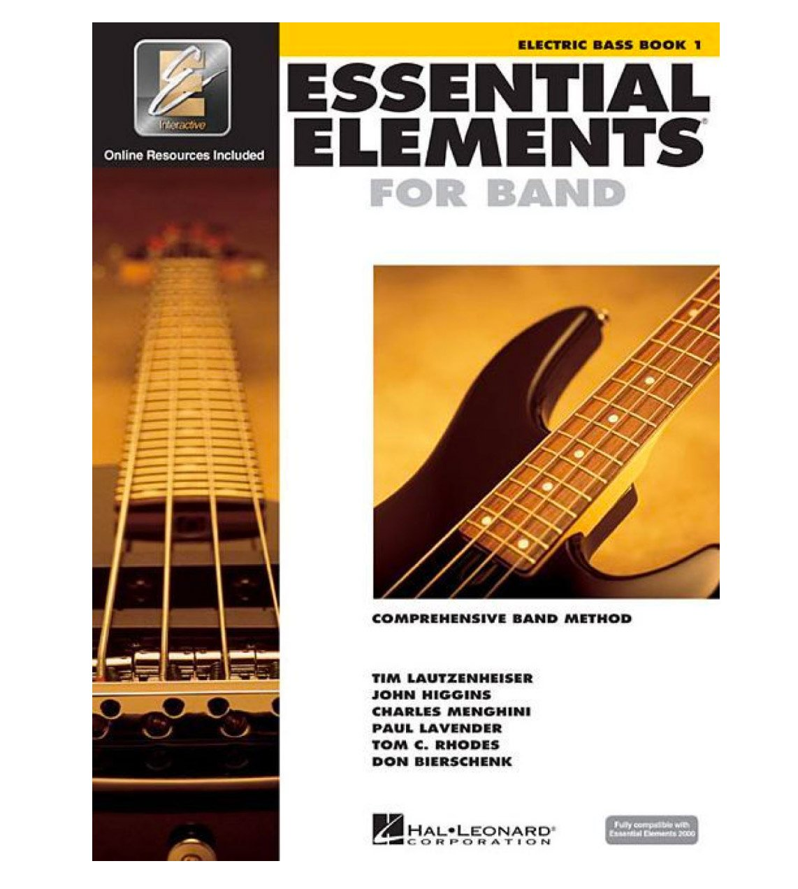 Essential Elements for Band-Electric Bass, Book 1
