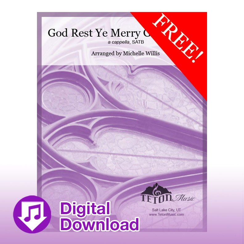 God Rest Ye Merry Gentlemen (SATB)